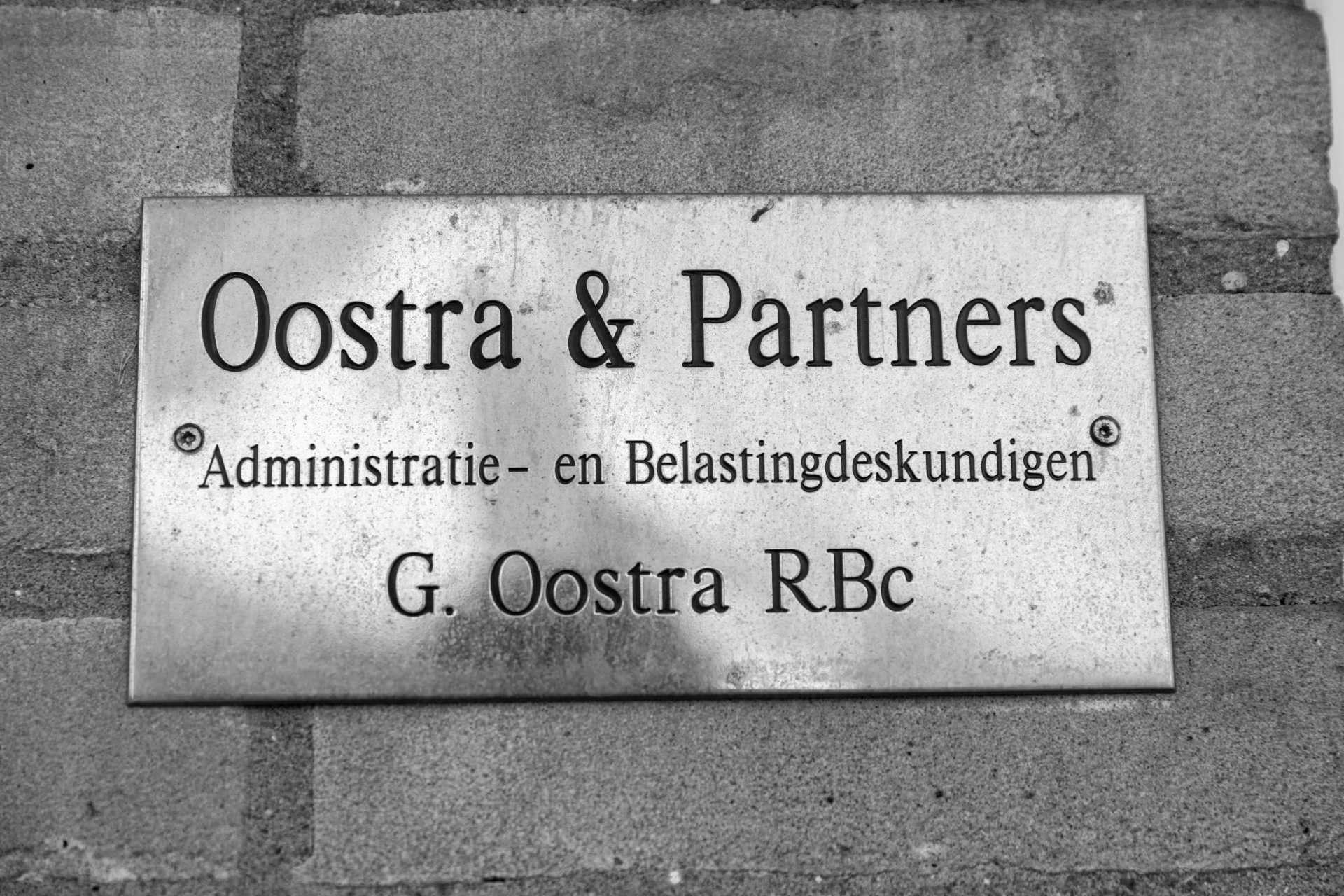 Administratie- Belastingadviseur Oostra & Partners