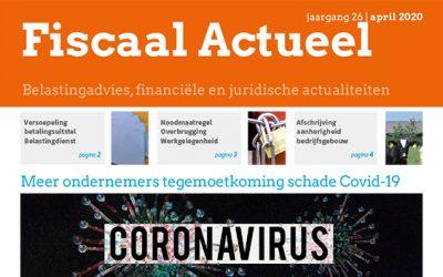 Fiscaal Actueel April 2020