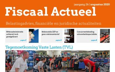 Fiscaal Actueel Augustus 2020