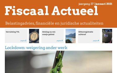 Fiscaal Actueel April 2021